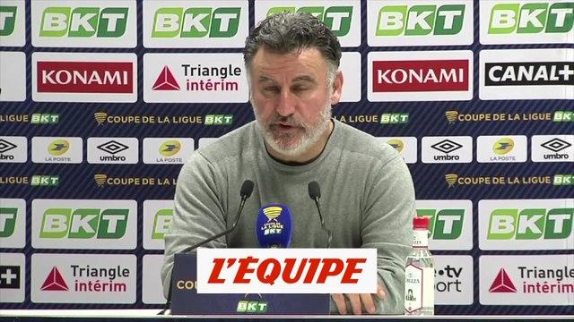 Galtier « Victor Osimhen va bien » - Foot - C. Ligue - Lille