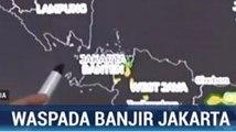 BMKG Imbau Warga Jakarta Waspadai Hujan Deras