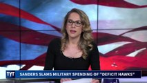 Bernie Sanders' SALTY Call Out of Military Spending Hypocrisy