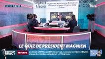 Comment s'appelle le nouveau secrétaire d'État en charge des retraites ?... Relevez le quiz du Président Magnien ! - 18/12