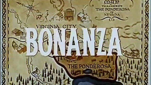 """Classic TV Westerns - Bonanza -  """"The Abduction"""" (1960)"""