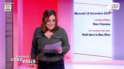 Marc Fesneau - Public Sénat mercredi 18 décembre 2019