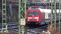 DB Baureihe 101 mit IC 1273 Rostock-Dresden bei der Einfahrt in Dresden Hbf. am 15.12.2019