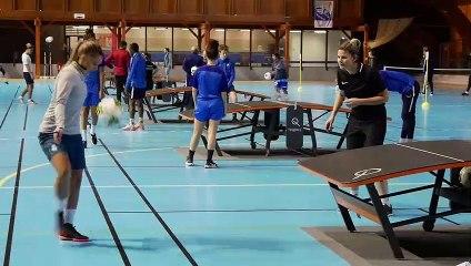 Tournoi Teqball organisé par la Ville de Grenoble