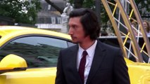Adam Driver walked out of an interview rather than listen to a clip from his film
