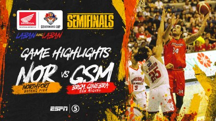 Highlights: G3: NorthPort vs Ginebra | PBA Governors' Cup 2019 Semifinals