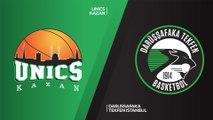 UNICS Kazan - Darusafaka Tekfen Istanbul Highlights | 7DAYS EuroCup, RS Round 10