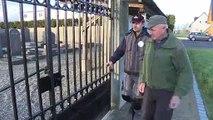 """""""Vigilantes de la memoria"""", voluntarios que custodian los cementerios judíos en Francia"""
