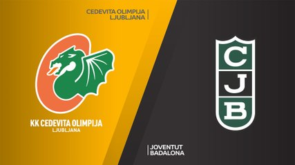 7Days EuroCup Highlights Regular Season, Round 10: Olimpija 103-81 Joventut