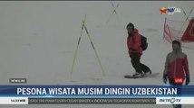 Pesona Wisata Musim Dingin di Uzbekistan