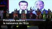 Accord franco-africain: la fin du franc CFA qui devient l'Eco