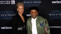 "Spike Lee and Tonya Lewis Lee ""Star Wars: The Rise of Skywalker"" World Premiere Blue Carpet"
