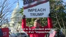 Destitution: vote historique au Congrès sur un renvoi de Trump en procès