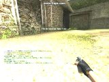 Bug Flash Counter Strike Source ( CSS ) sur de_aztec