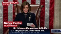 Speaker Nancy Pelosi Confirms House Vote To Impeach President Trump