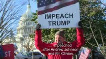 Trump impeached by the House of Representatives