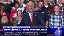 """Procédure de destitution: Donald Trump dénonce """"la haine"""" des démocrates"""