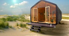 Wikkelhouse, une maison en carton recyclé pour moins de 12.000€