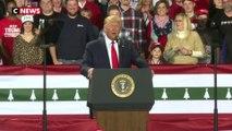 Mis en accusation par une Chambre divisée, Trump dénonce la «haine» de ses adversaires politiques