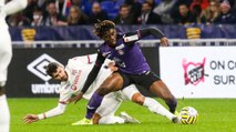 Le premier but de Manu Koné en pros, à Lyon en Coupe de la Ligue BKT