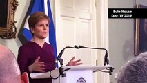 Nicola Sturgeon confirms section 30 order request to hold Scottish independence referendum | December 19 2019