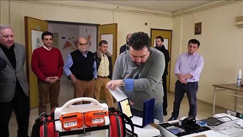 Τρία υπερσύγχρονα ιατρικά μηχανήματα δωρεά του εμπορικού συλλόγου Αλιάρτου