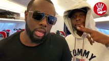 Direction Dakar : Maître Gims et Dadju dans un avion Air Sénégal