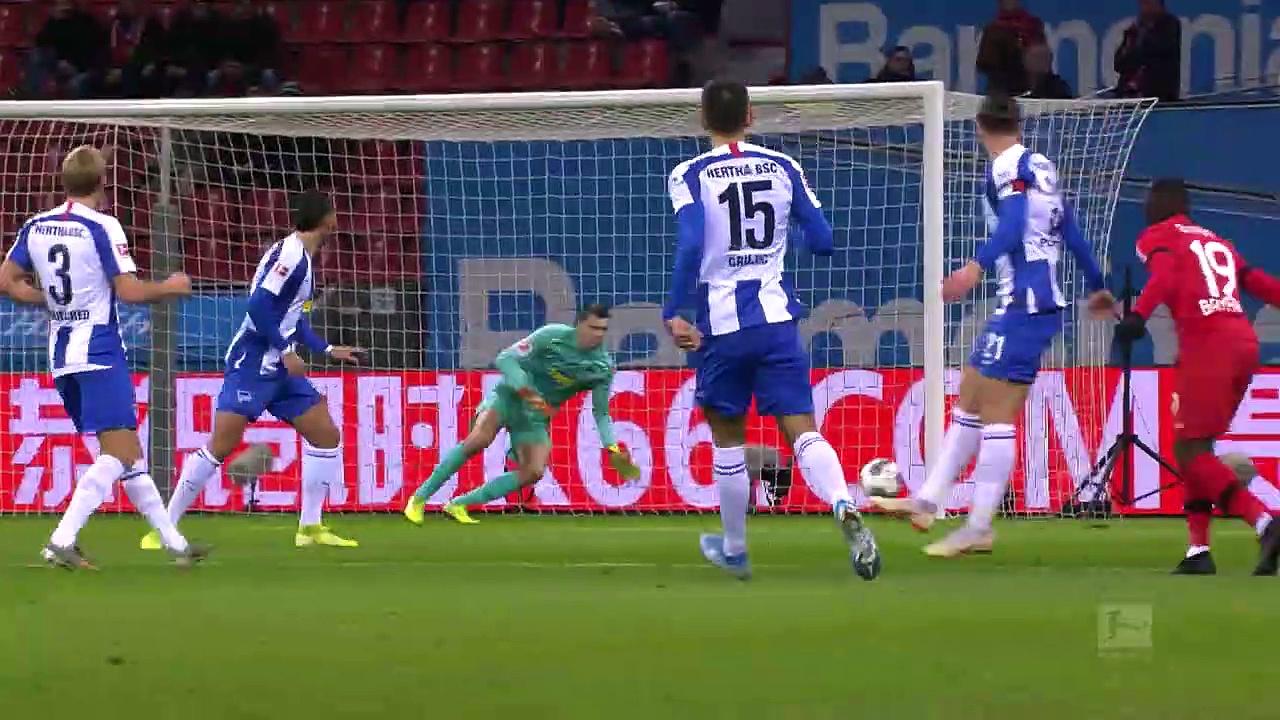Bayer Leverkusen - Hertha Berlin (0-1) - Maç Özeti - Bundesliga 2019/20