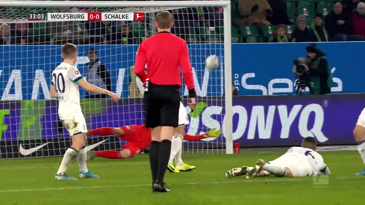 Wolfsburg - Schalke 04 (1-1) - Maç Özeti - Bundesliga 2019/20