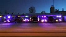 Les pompiers animent Noël
