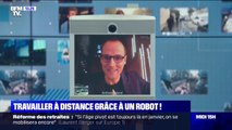 Travailler à distance grâce à un robot !