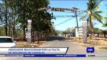Abogados reaccionan por la falta de seguridad en cárceles  - Nex Noticias