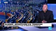 """Algérie: """"Il est certain que nous ne reconnaissons pas ce président"""""""