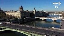 EXCLUSIF La Ville Lumière filmée par un drone