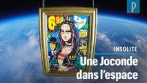 Comment un artiste français a envoyé une Joconde dans l'espace