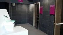 L'espace sauna / hammam / bien-être au centre aqualudique de Valence (Drôme)