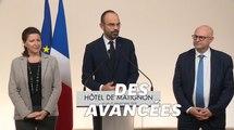 """Retraites: Édouard Philippe vante des """"avancées concrètes"""" mais ne lâche rien"""