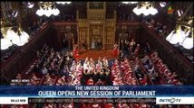 Queen Opens New Session of Parliament