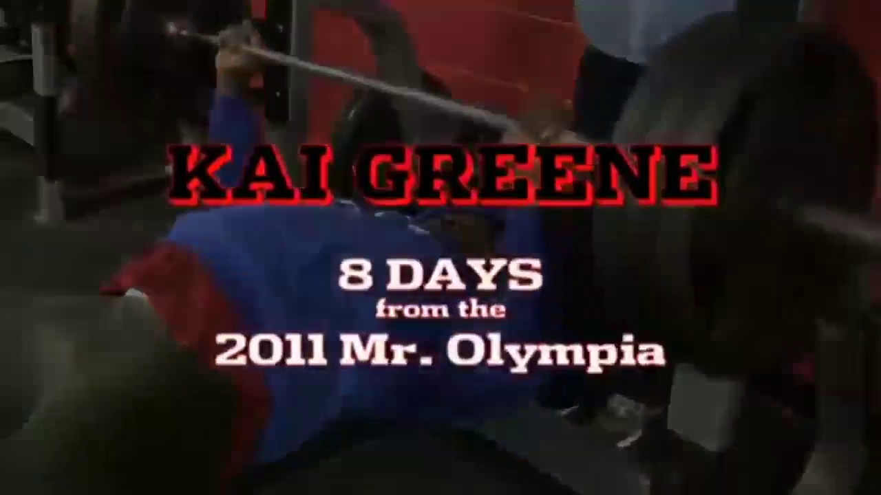 Kai greene havey chest workout and shoulder workout