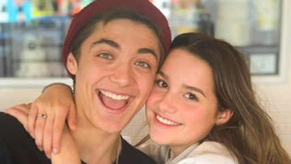 Annie Leblanc and Asher Angel Top 5 CUTEST Moments!