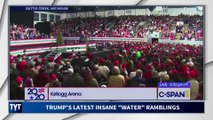 Crowd Stares In Silence As Trump Rants About Water