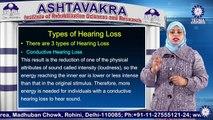 D.ED  (HI) || Ms.  Sumbul A Khan || Types of Hearing Loss || AIRSR || TIAS || TECNIA TV