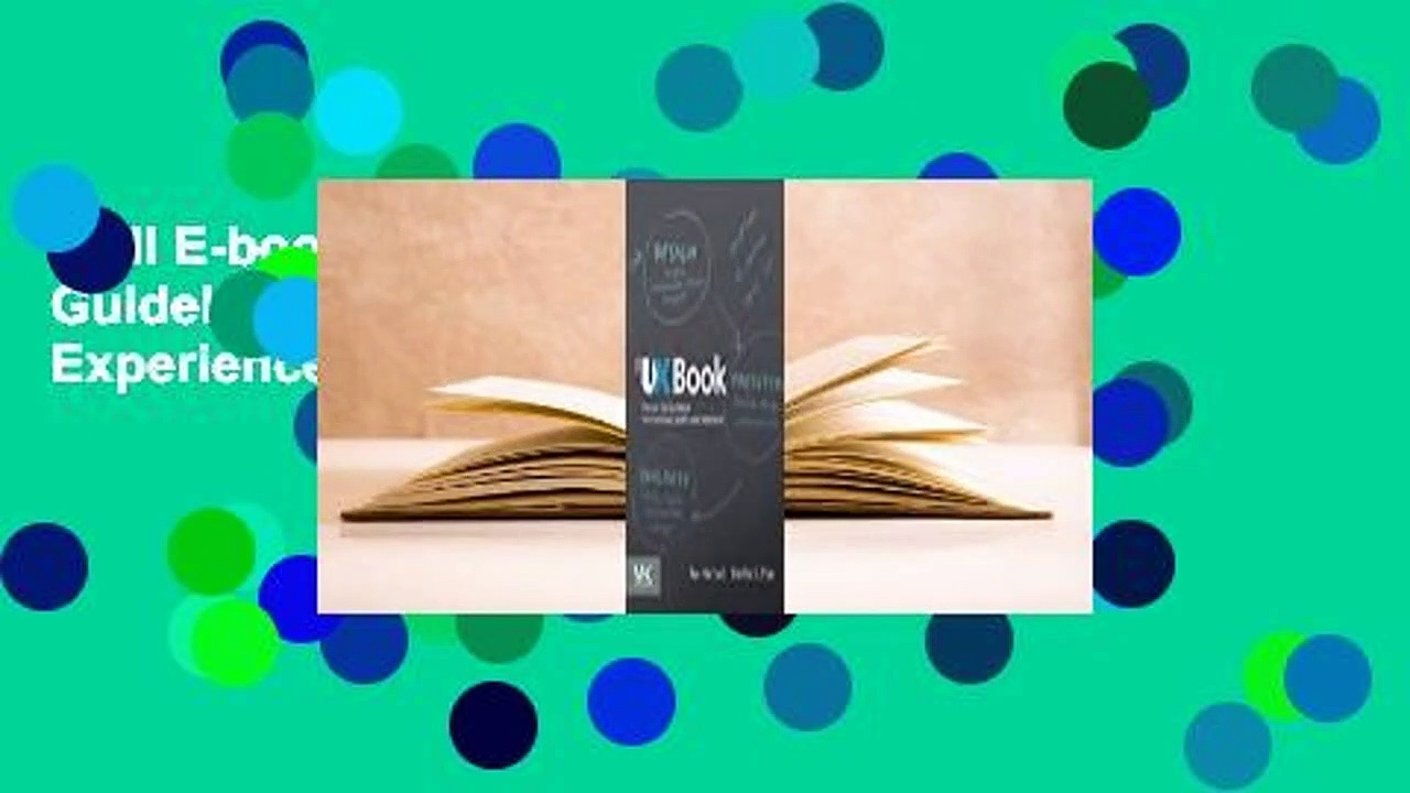 Full E-book  The UX Book: Process and Guidelines for Ensuring a Quality User Experience  Review