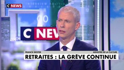 Franck Riester - CNews vendredi 20 décembre 2019