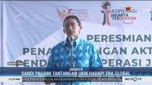 Sandiaga Uno Resmikan Koperasi Komunitas Jakarta Tersenyum