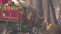 Two Australian firefighters die in bushfires