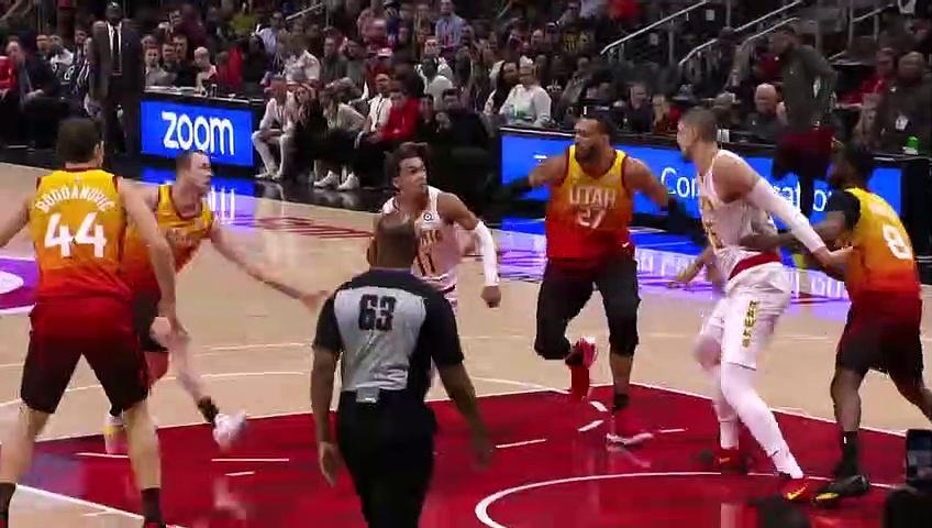 Utah Jazz 111 - 106 Atlanta Hawks