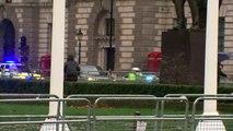 Boris Johnson arrives at Parliament