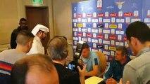 Lazio, il saluto di Milinkovic ai tifosi arabi