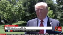 """2019 JUN 11 Gaggle; Trump; says Democrats & """"OTHERS"""" Committed Egregious Crimes"""